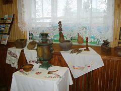 Этнографическая выставка. Национальный парк «Хвалынский»